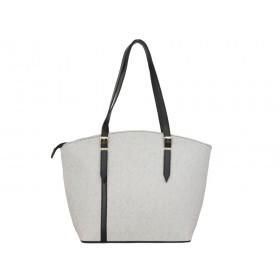 българска дамска чанта g51-11b сив меланж
