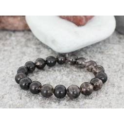 гривна от естествени полускъпоценни камъни турмалинов кварц