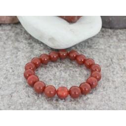 гривна от полускъпоценни камъни mp077 жадеит и корал