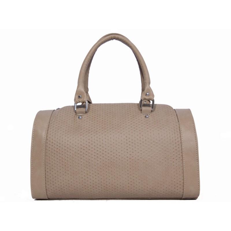 дамска чанта бежов цвят -B003093G