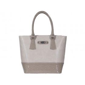 дамска чанта бежов цвят B4294G