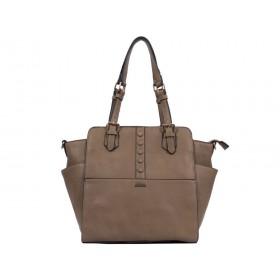 дамска чанта бежов цвят -BG03970