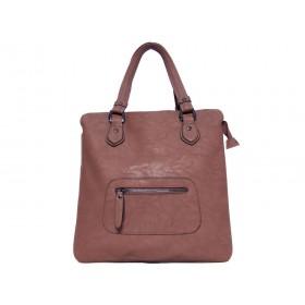 дамска чанта в кафяв цвят KI2720