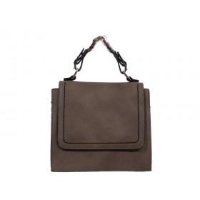 дамска чанта през рамо цвят каки -K3832I