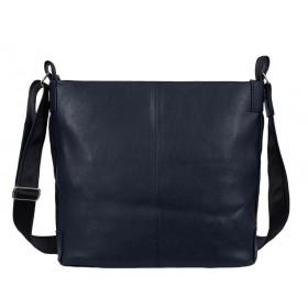 дамска чанта през рамо B54-91G син цвят