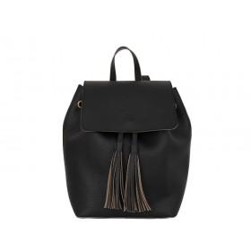 Дамска чанта раница B507580G черен цвят