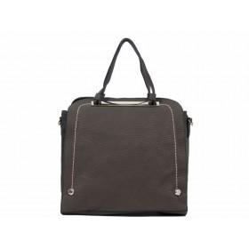 дамска чанта сив цвят -KI3858