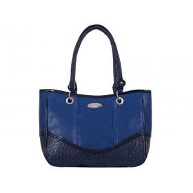 дамска чанта син цвят B4605G