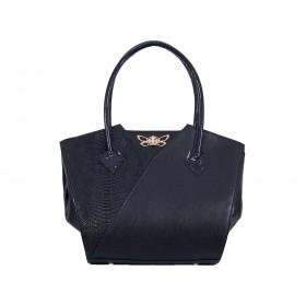 дамска чанта син цвят -BG036C