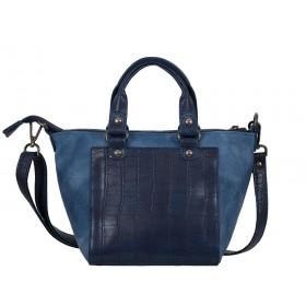 дамска чанта син цвят - G04631R