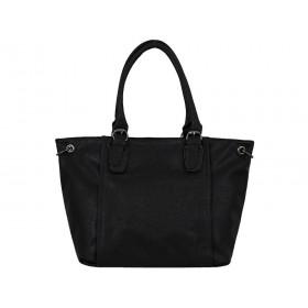 дамска чанта тип торба K38210K черен цвят