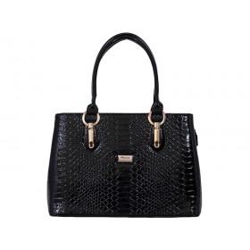 дамска чанта черен цвят - 4401