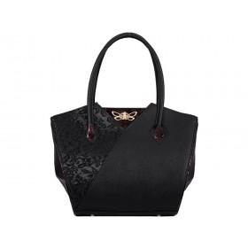 дамска чанта черен цвят -B0036DG
