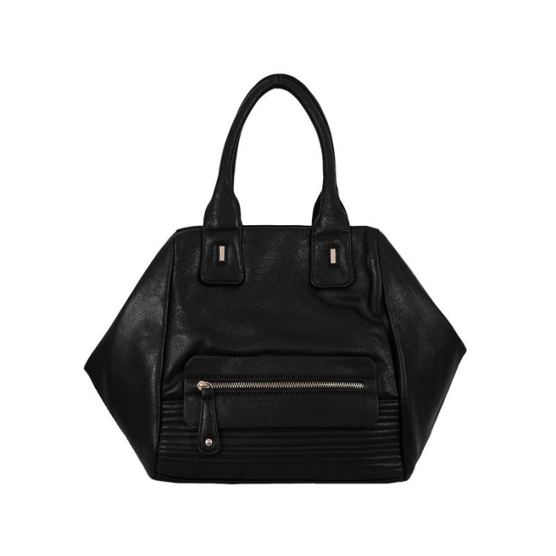 дамска чанта черен цвят B025210G