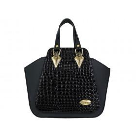 дамска чанта черен цвят bg0025A