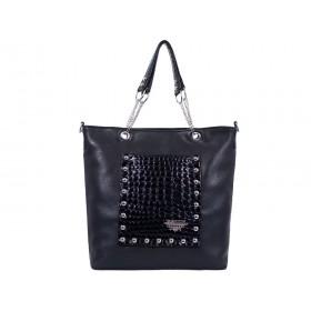 дамска чанта B0027G черен цвят