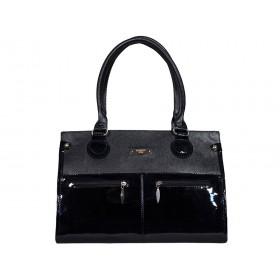 дамска чанта -B012AG- черен цвят