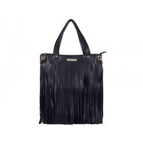 дамска чанта B020G черен цвят