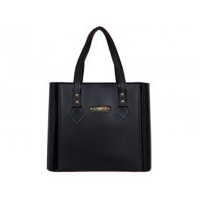 дамска чанта -B023BG- черен цвят