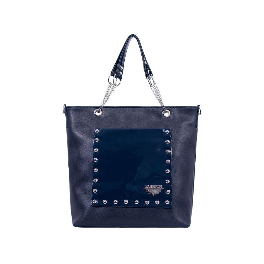 дамска чанта B0270AG син цвят