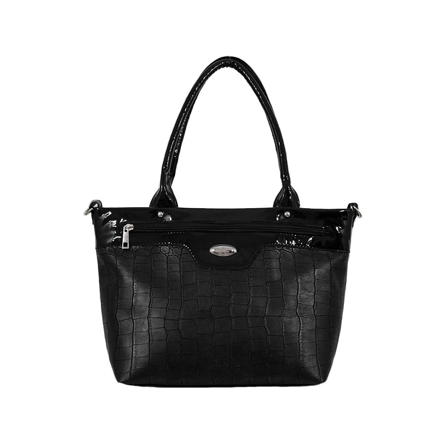 дамска чанта B047340G черен цвят