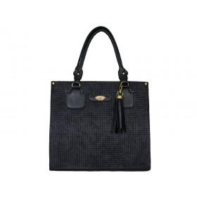 дамска чанта -BG4412- черен цвят