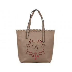 дамска чанта K2473k кафяв цвят