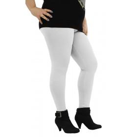дамски клин бял памук KK069A големи размери