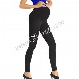 Дамски клин за бременни ликра SB201 черен цвят