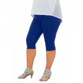 дамски клин 3/4 K267 големи размери син цвят