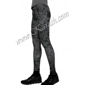 дамски спортен клин K230 сиво черен полиамид