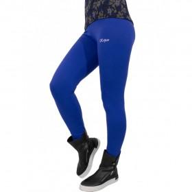 дамски спортен панталон тип клин -KP003- син цвят