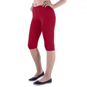 Дамски 3/4 клин памук kkr81 червен цвят