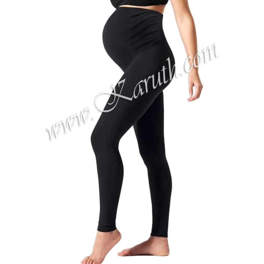 клин за бременни лека вата SB242 черен цвят