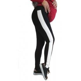 Клин за бременни с бяла кожа SB244 черен цвят