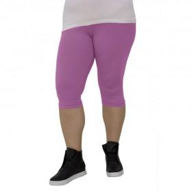 3/4 дамски клин големи размери R220 светло лилав цвят