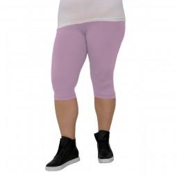 3/4 дамски клин големи размери R265 бледо лилав цвят