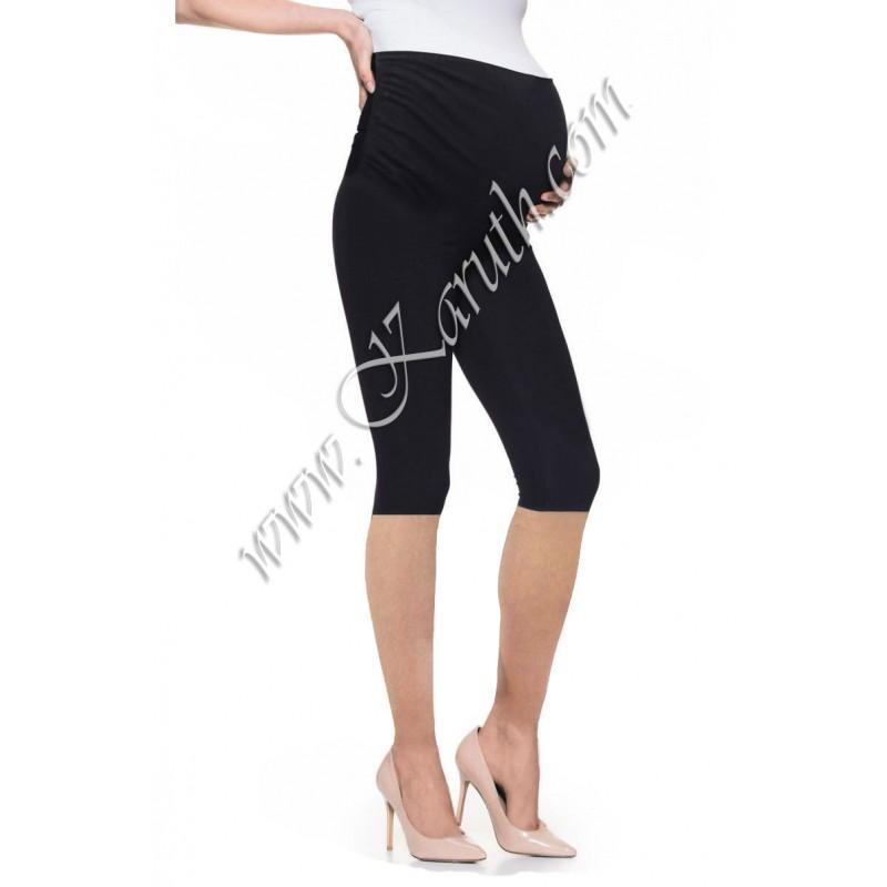 3/4 клин за бременни sb226 черен памук
